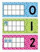 Back to School Ten Frame Puzzles