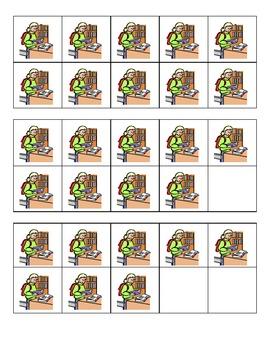 Back to School READ Ten Frames Games