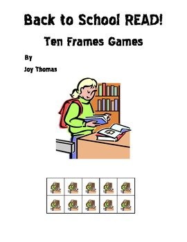 Back to School READ Ten Frames Games