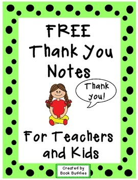 Thank You Notes FREE