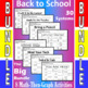 Back to School - The Big Bundle - 8 Math-Then-Graph Activities - 30 Systems