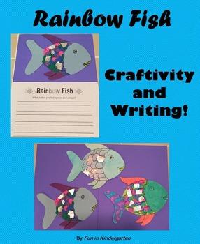 The Rainbow Fish Craftivity