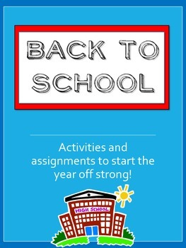Back to School - The Ultimate Printable Activity Package