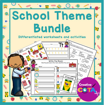 Back to School Differentiated Activities and Worksheets