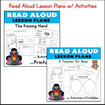 Back to School Theme CCore Literacy Math MEGA PACK  Kindergarten 30 pgs