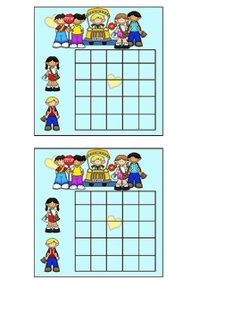 Back to School Theme Incentive Sticker Chart