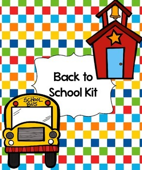 Back to School Theme Kit