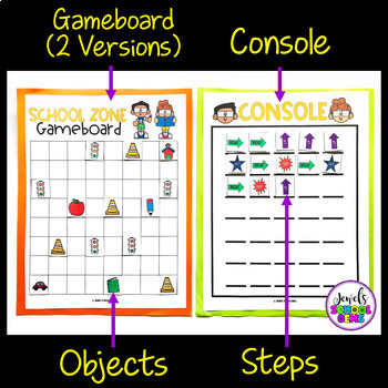 Holiday Unplugged Coding Activities (Back to School Coding Unplugged Activity)