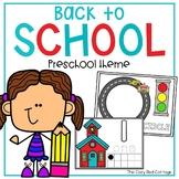 Back to School Preschool Theme