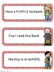 Back to School Editing Sentences: First Grade, Capitalizat