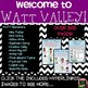 Back to School Thinking Activities and More (W.A.T.T. Valley Bundle)