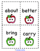 Back to School: Third Grade Dolch Sight Word Game