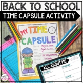 Time Capsule Beginning of Year Activity