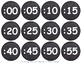 Back to School Time and Clock Labels