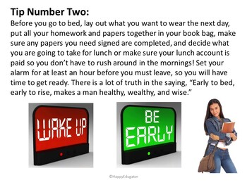 Back to School Tips for Success