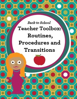 Routines and Procedures for Back to School