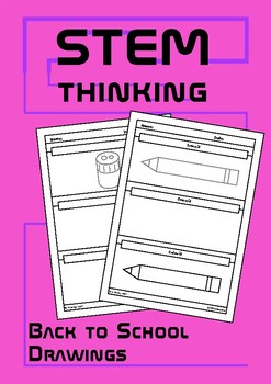 Back to School Trace, Draw, Color  Worksheets