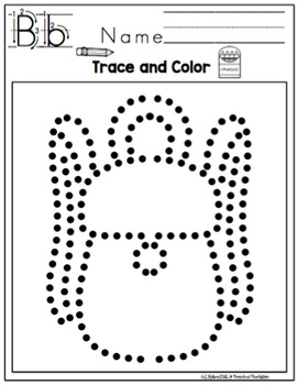 Back to School Tracing Pictures