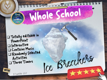 Back to School / Transition - Ice Breakers