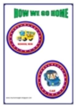 Back to School-Transportation Cards
