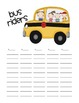 Back to School Transportation chart