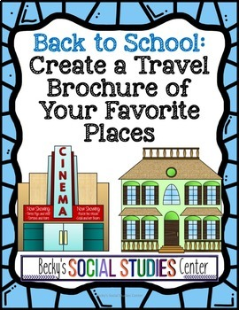 Back to School: Travel Brochure of Favorite Places