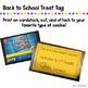 Back to School Treat Tag FREE