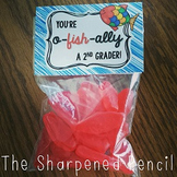 Back to School Treat Toppers - Goldfish or Swedish Fish