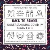 Back to School Understanding Covid-19 (Coronavirus) Grades 5 & 6