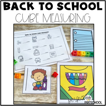 Back to School Cube Measuring
