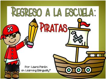 Back to School Unit- Pirates Theme