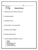 Back to School - Upper Elementary Student Interest Survey