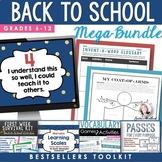 Back to School VALUE BUNDLE: Secondary Bestsellers