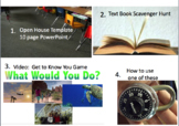 """Back to School - Video: """"Get to Know You"""" Game, Open House Template, & More (L)"""