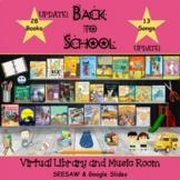 Back-to-School Virtual Library & Music Room - SEESAW & Goo