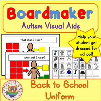 Back to School Visual Aids Bundle - Boardmaker Visual Aids