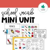 Back-to-School Vocabulary Activities
