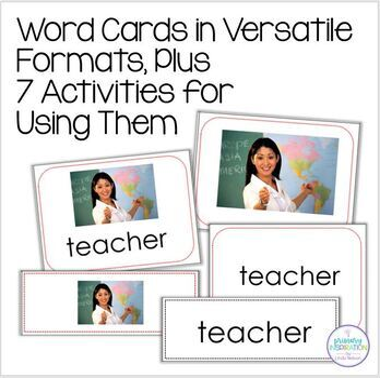 Back to School Vocabulary Bundle