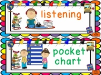 Back to School Vocabulary Word Wall Bulletin Board Display Cards