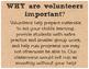 Back to School Volunteer Sign-Ups