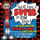 3rd Grade Back to School Activities Booklet | Superhero Theme