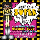 4th Grade Back to School Activities Booklet | Superhero Theme