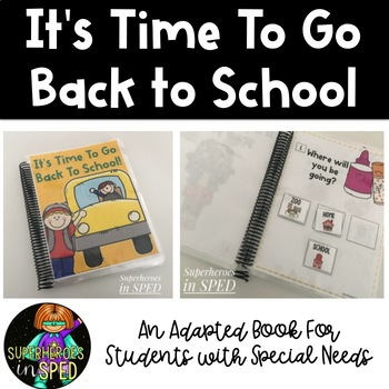 "Back to School ""WH"" Comprehension Book"