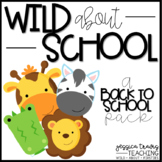 Back to School {WILD About School Packet!}