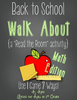 Back to School Read the Room {Math}