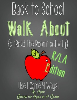 Back to School Read the Room {Reading}