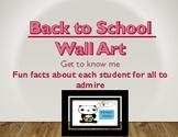Back to School Wall Art