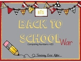Back to School War- Comparing Numbers Game 1-120