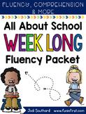 Back to School Week Long Fluency Packet