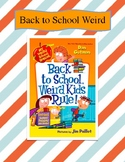 Back to School, Weird Kids Rule Comprehension Unit